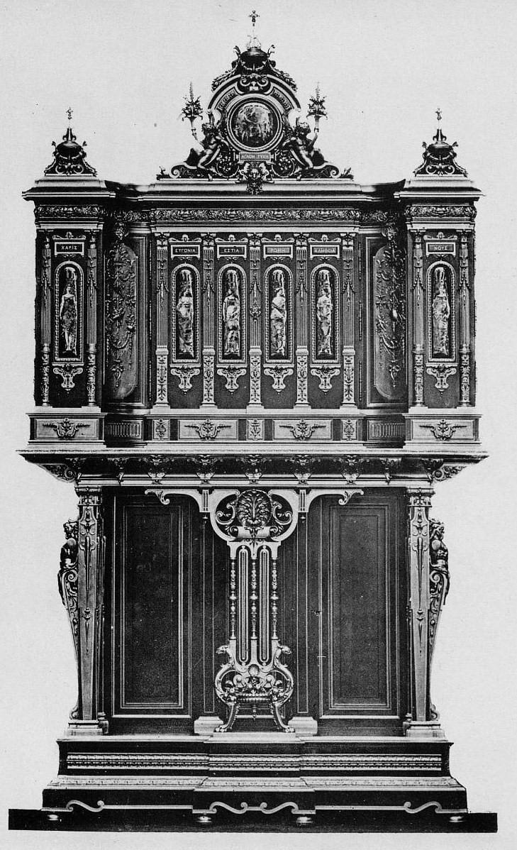 Filefbarbedienne Csévin Cabinet En ébène Orné De Bronzejpg
