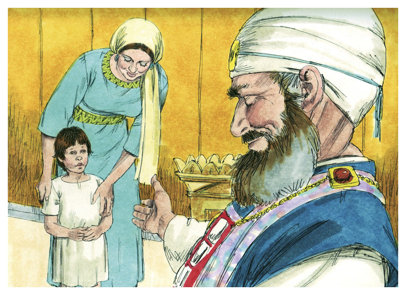 Bible Story Pictures To Color Free