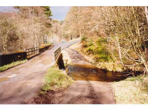 Ford and bridge, Hamsterley Forest - geograph.org.uk - 58647
