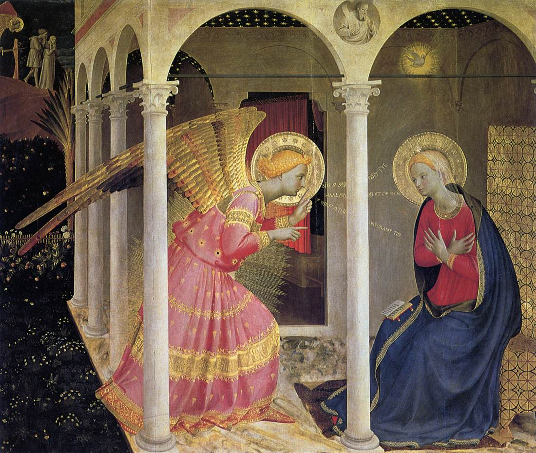 Image result for annunciation art