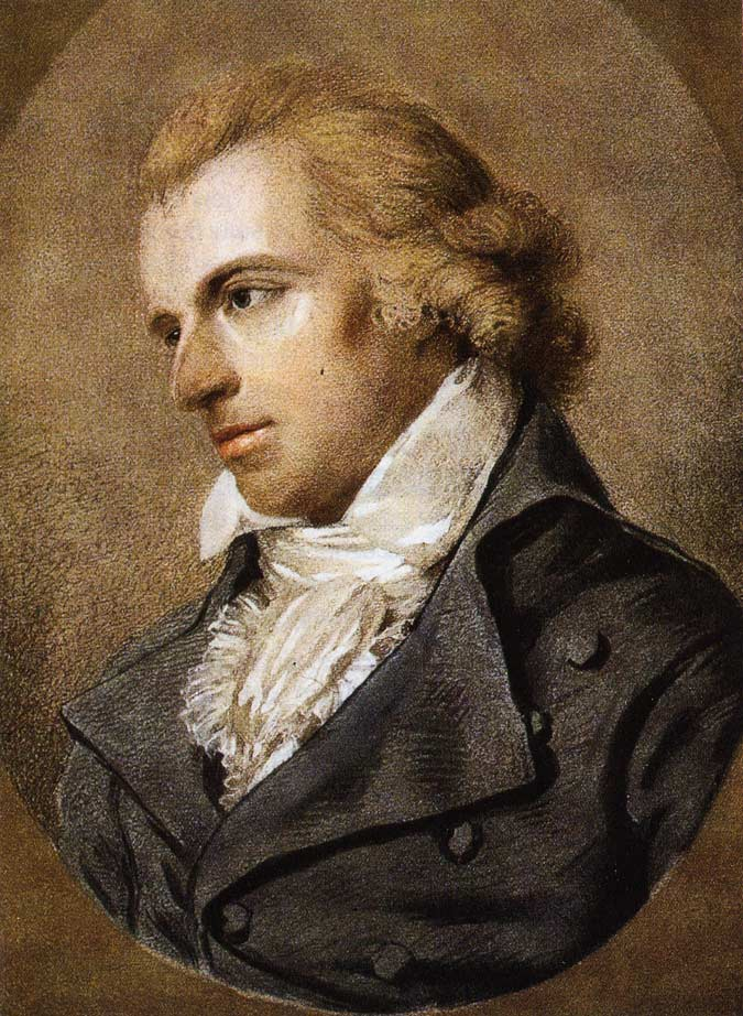 Portrait of Friedrich Schiller