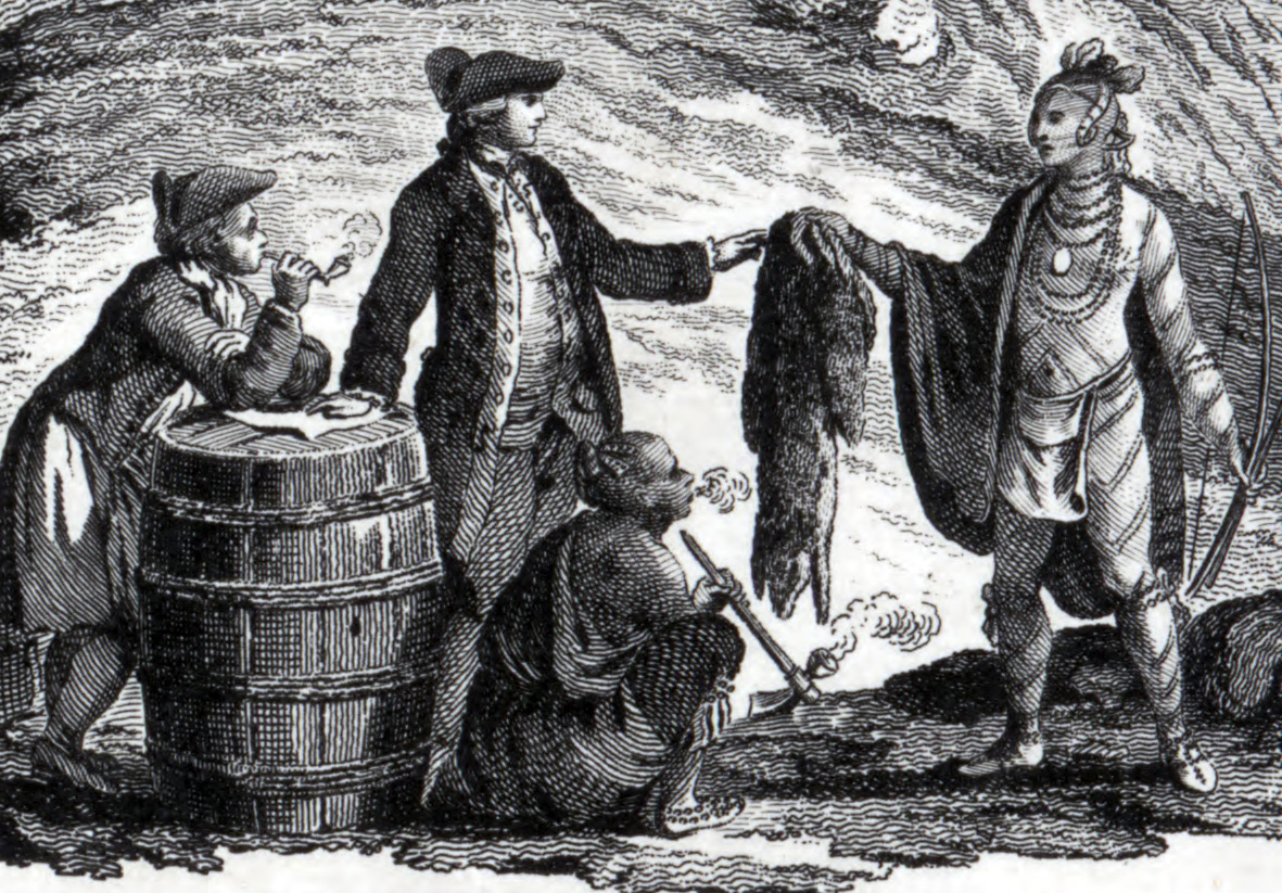 Environmental and health effects of european contact with the new colonists trading furs of overhunted beavers publicscrutiny