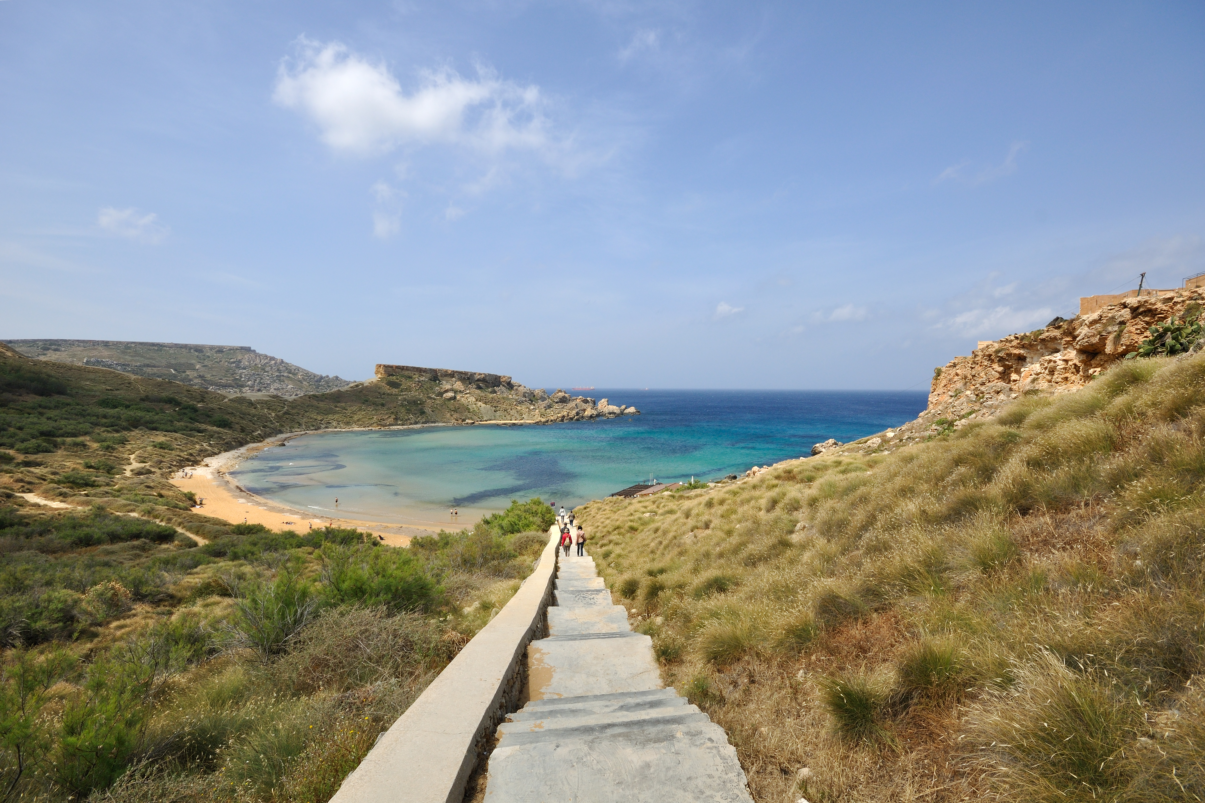 Image result for għajn tuffieħa malta
