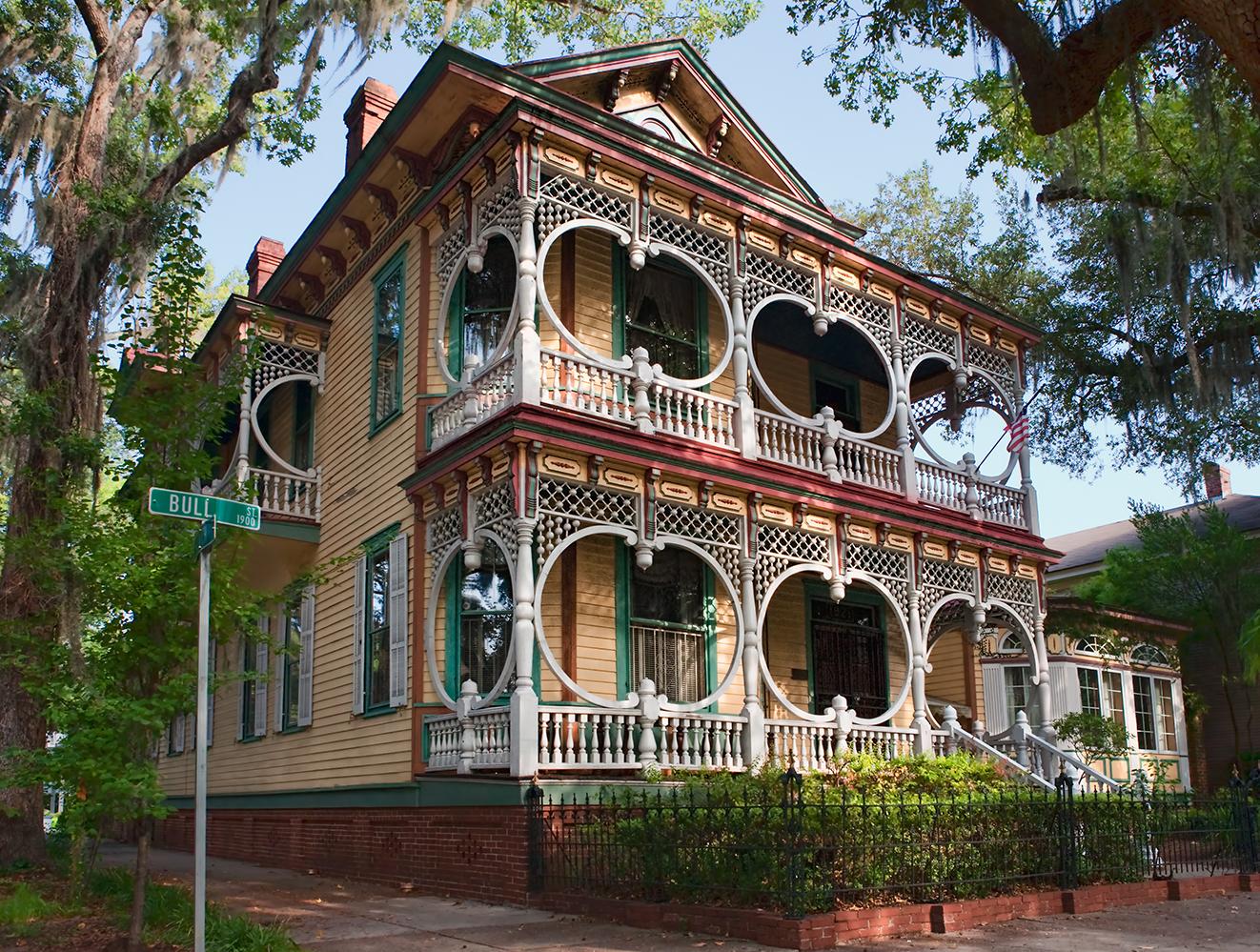 The Gingerbread House Savannah Ga