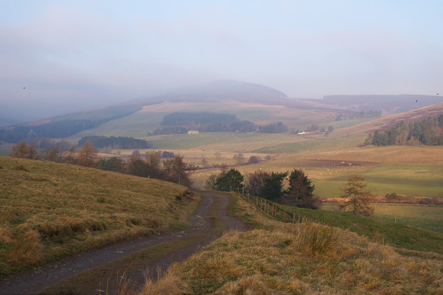 Glen Isla from the Cateran Trail - geograph.org.uk - 1112614