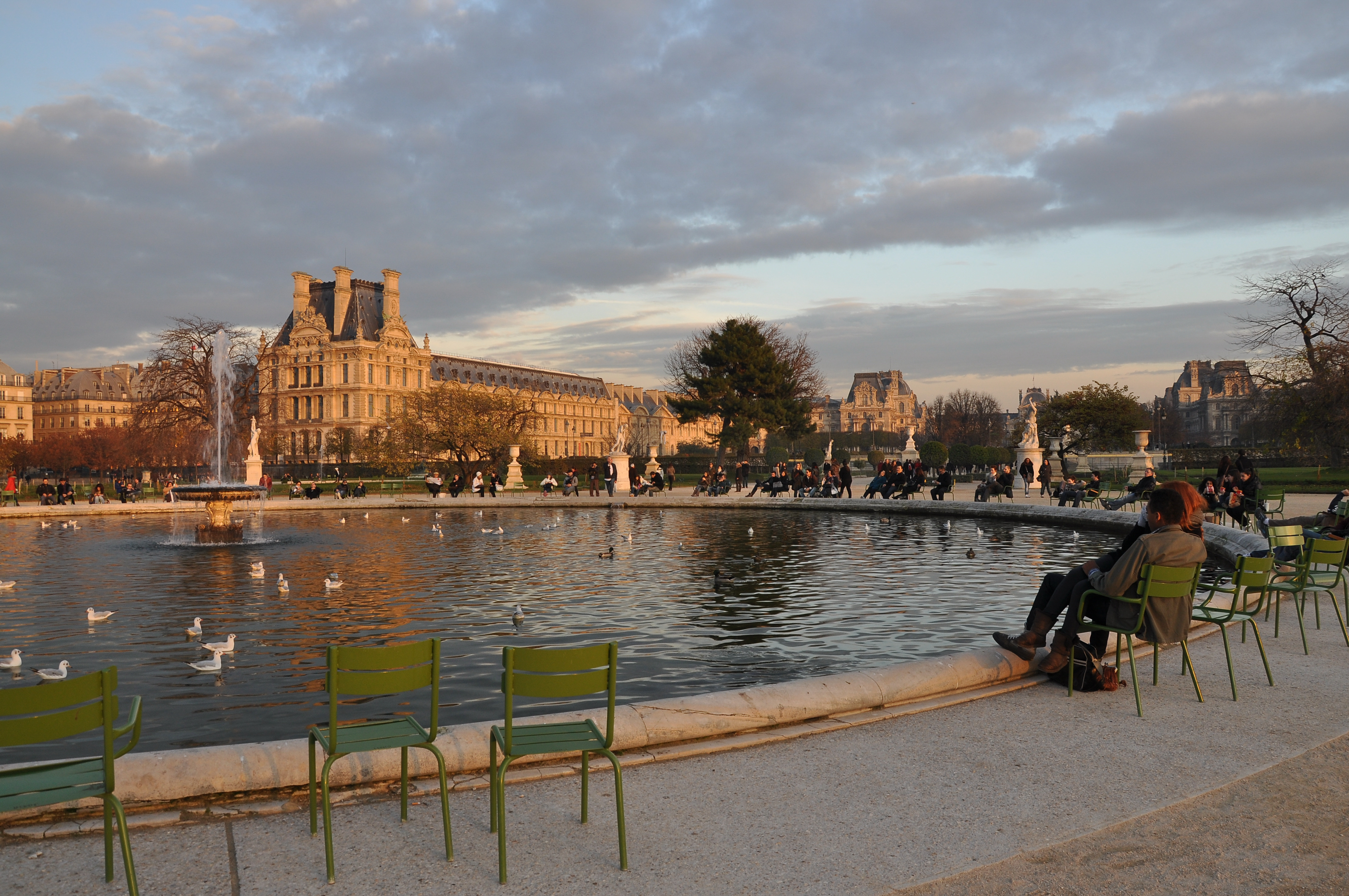 File grand bassin rond jardin des tuileries for Tuileries jardin