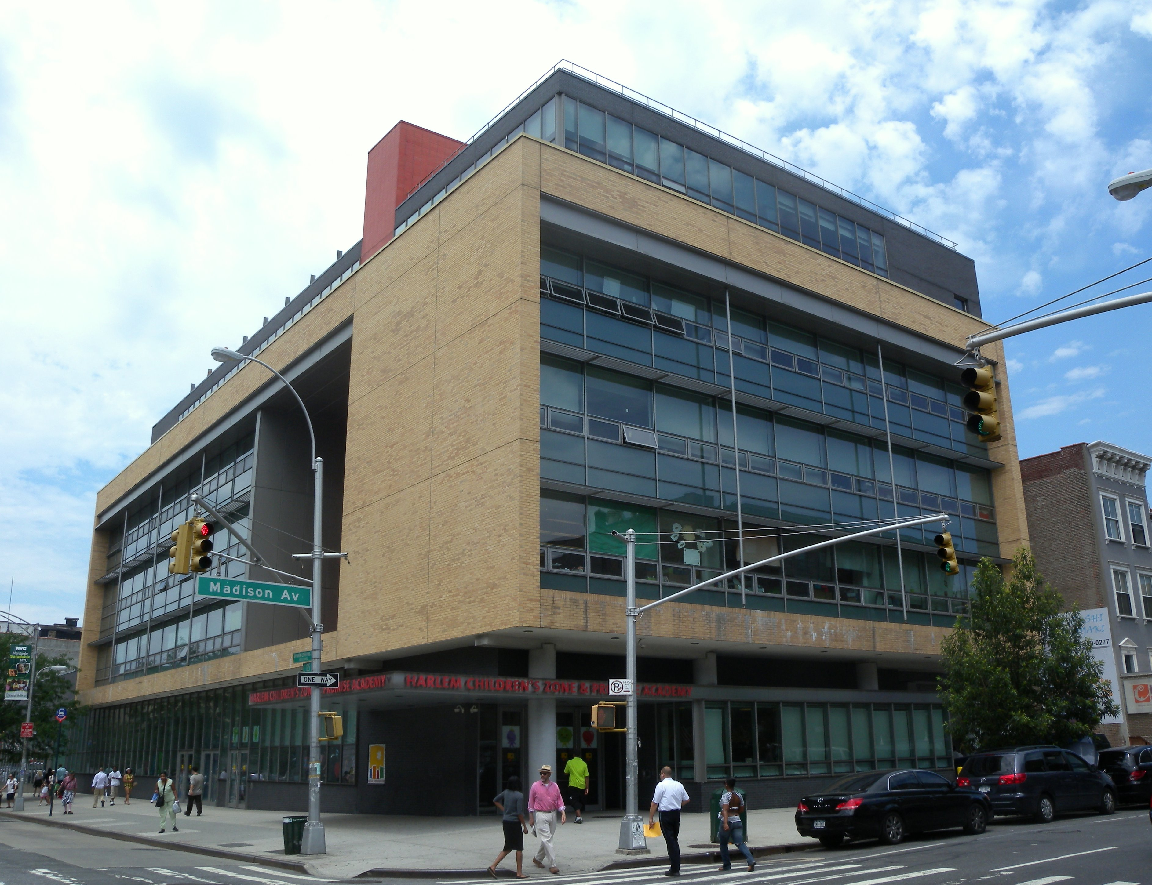 Harlem Children's Zone and Promise Academy.  Image by Jim.henderson