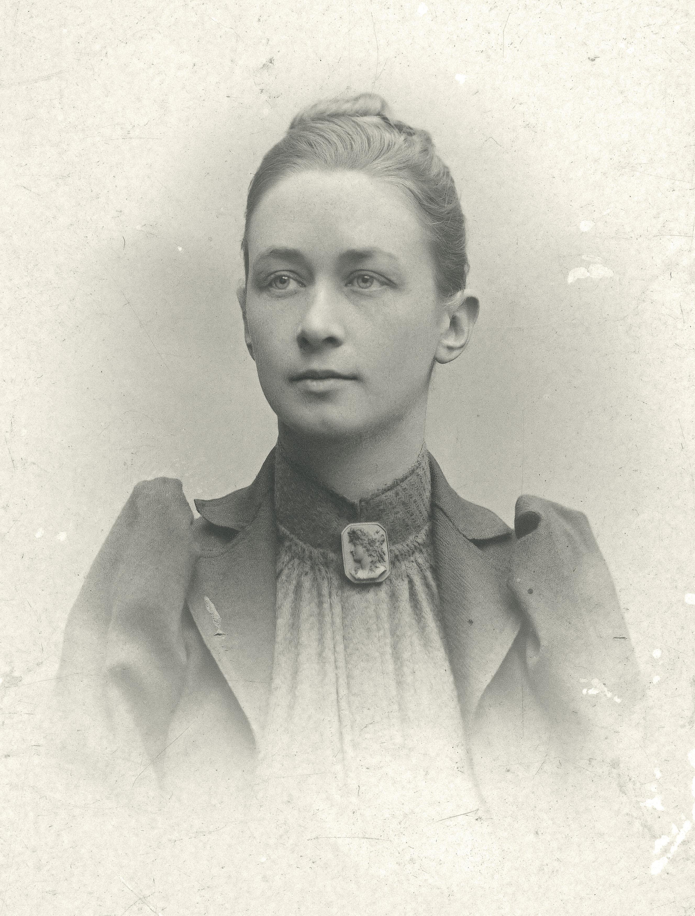 Portrait photo c. 1901 or earlier