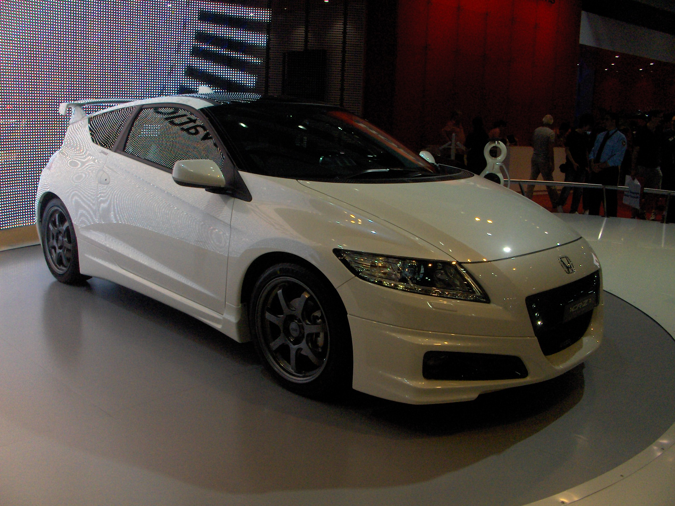 honda crz white modified the image kid has it. Black Bedroom Furniture Sets. Home Design Ideas