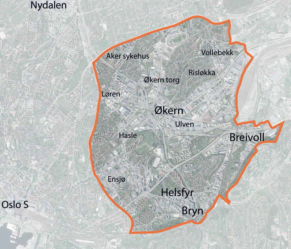 kart over tøyen Hovinbyen – Wikipedia kart over tøyen