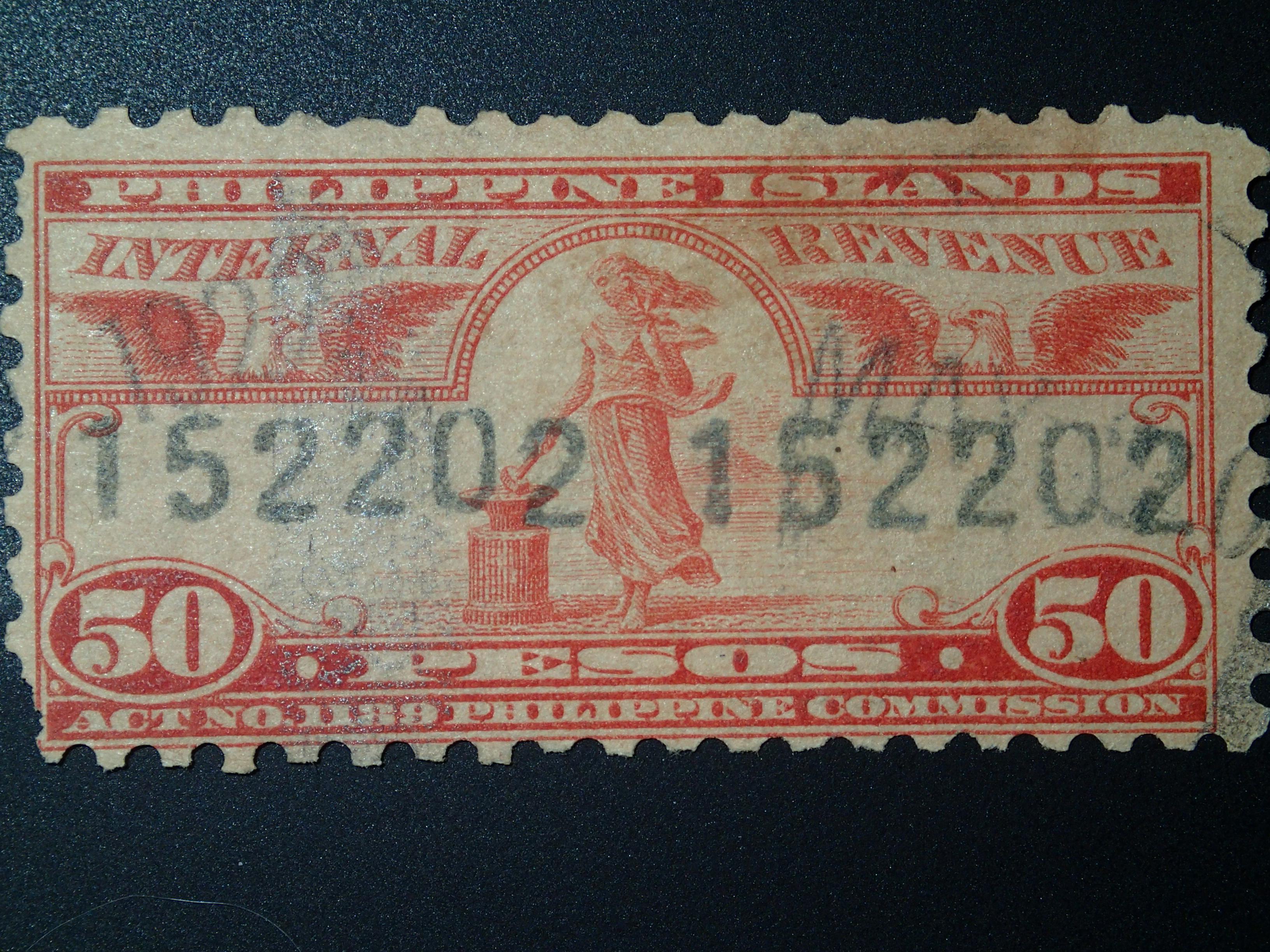 FileInternal Revenue Stamps Philippine Islands 1905 1928 02JPG