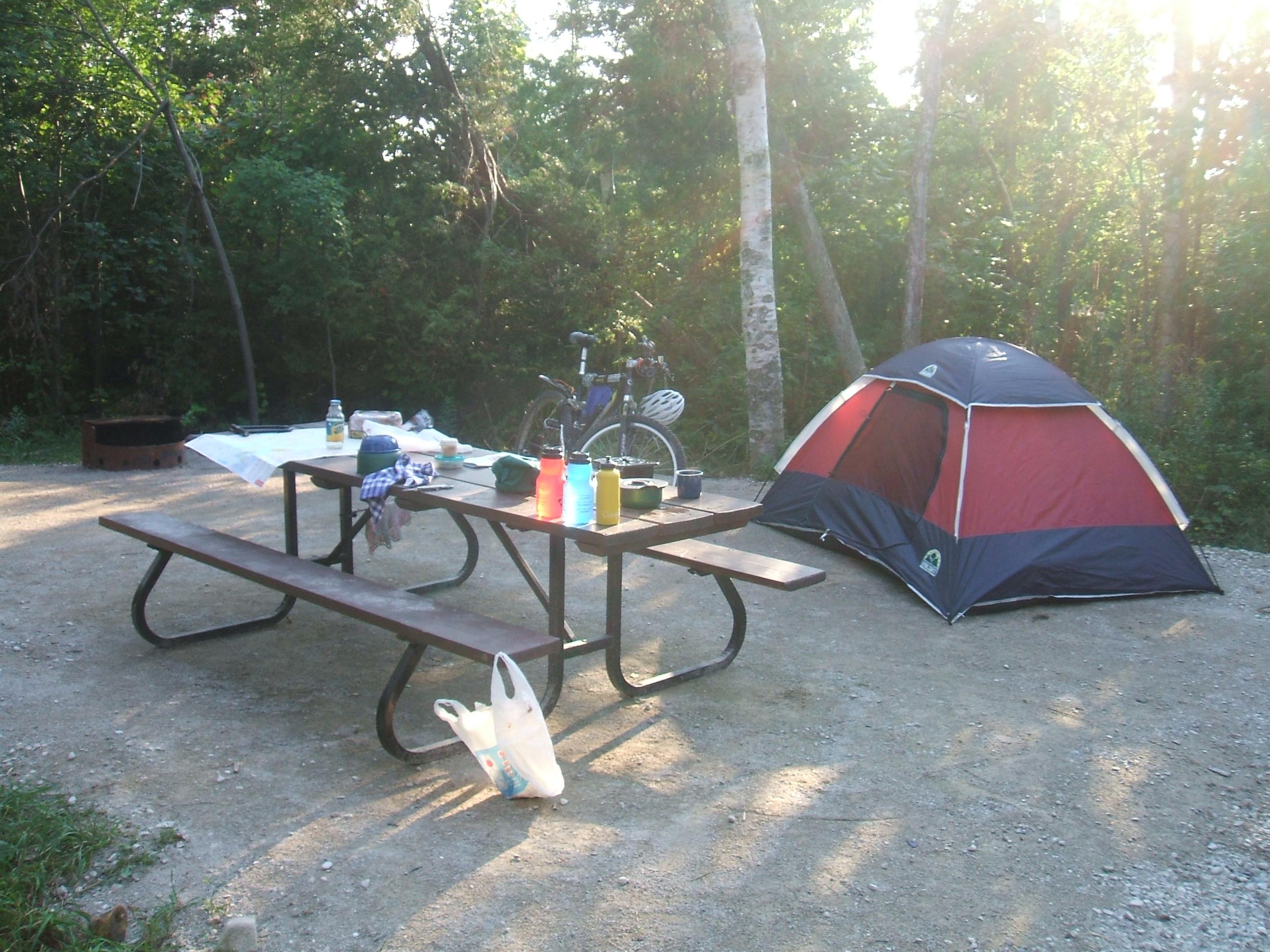 Campground At James Island County Park Charleston Sc