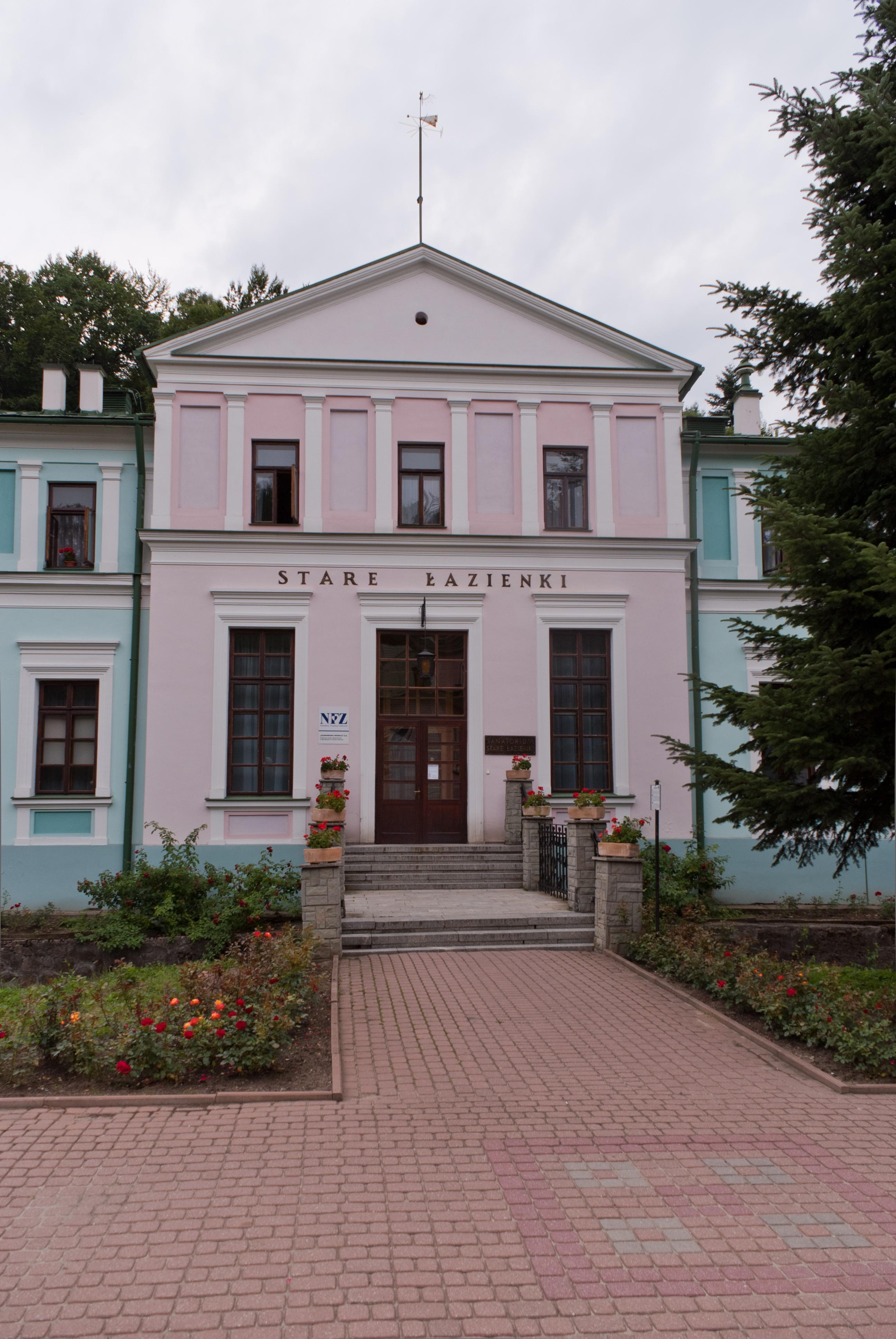 Fileiwonicz Zdrój Stare łazienkijpg Wikimedia Commons
