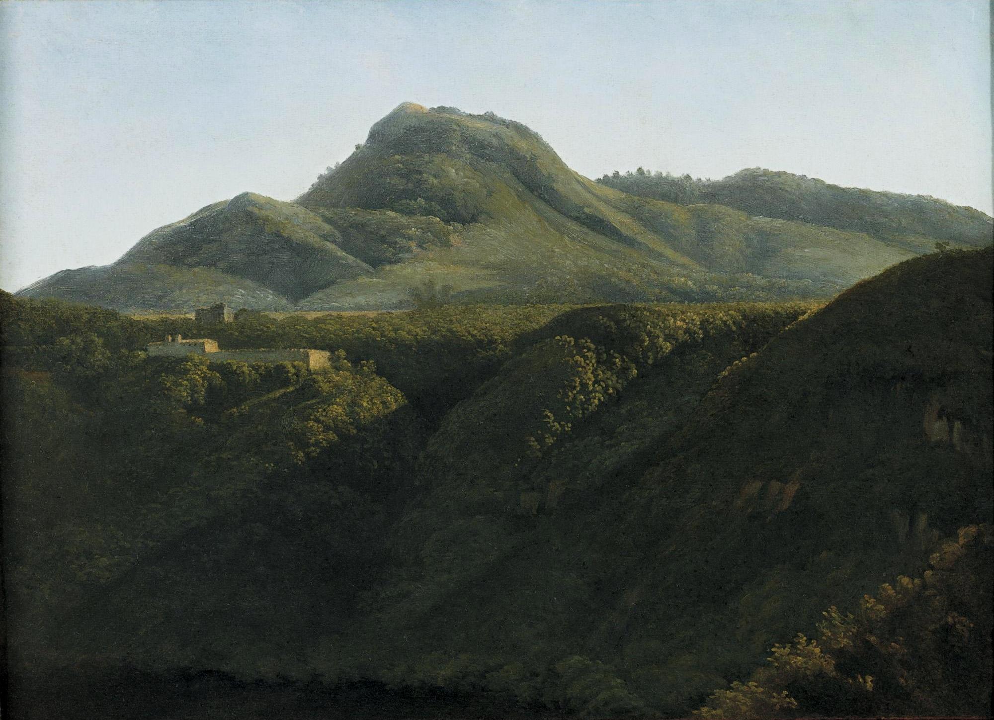 Paysage 2000 tout file:jean-joseph-xavier bidauld - lever de soleil sur un paysage