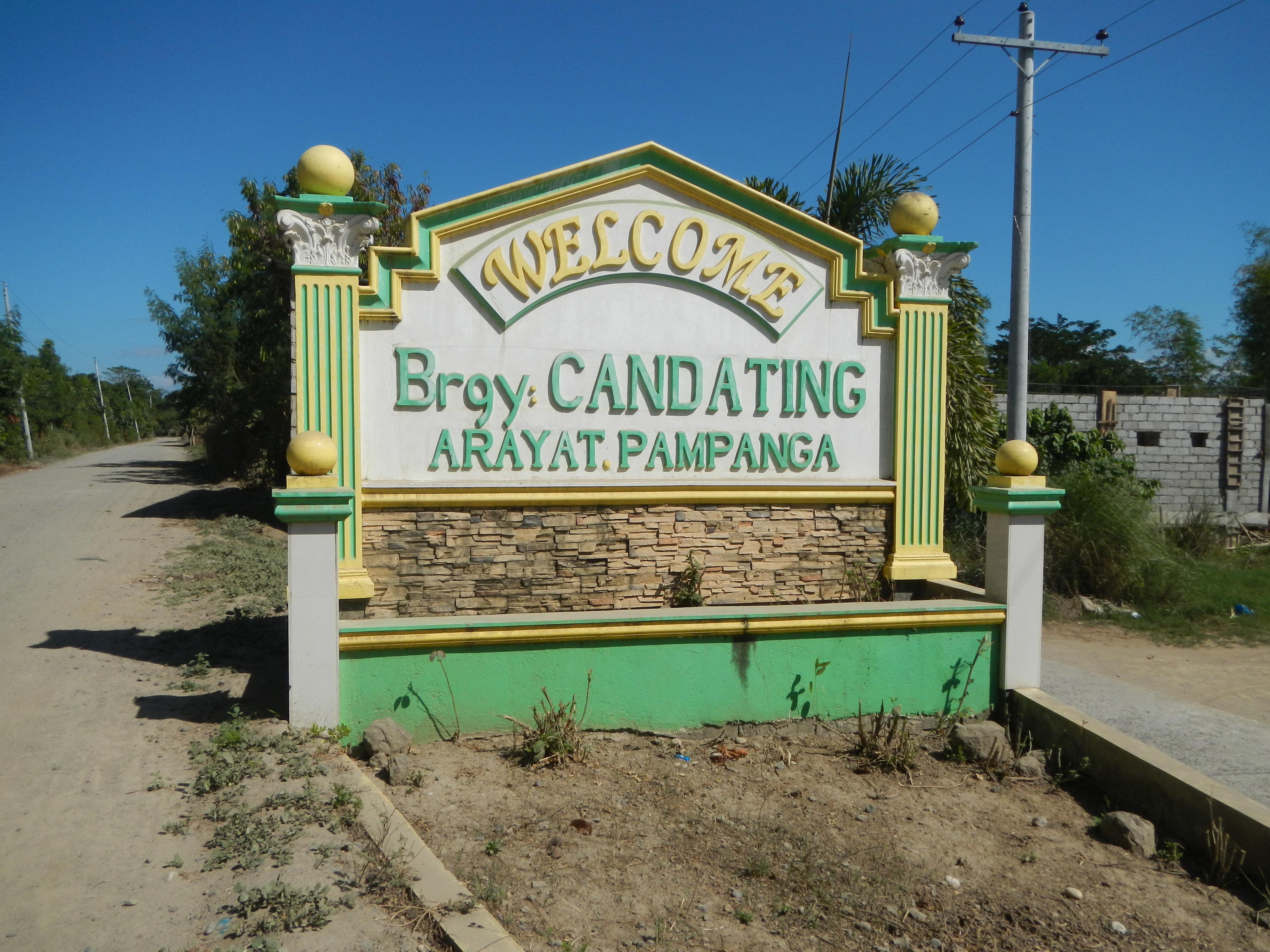 Candating arayat pampanga