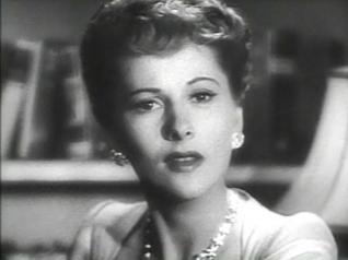 Joan Fontaine in screen shot for Suspicion