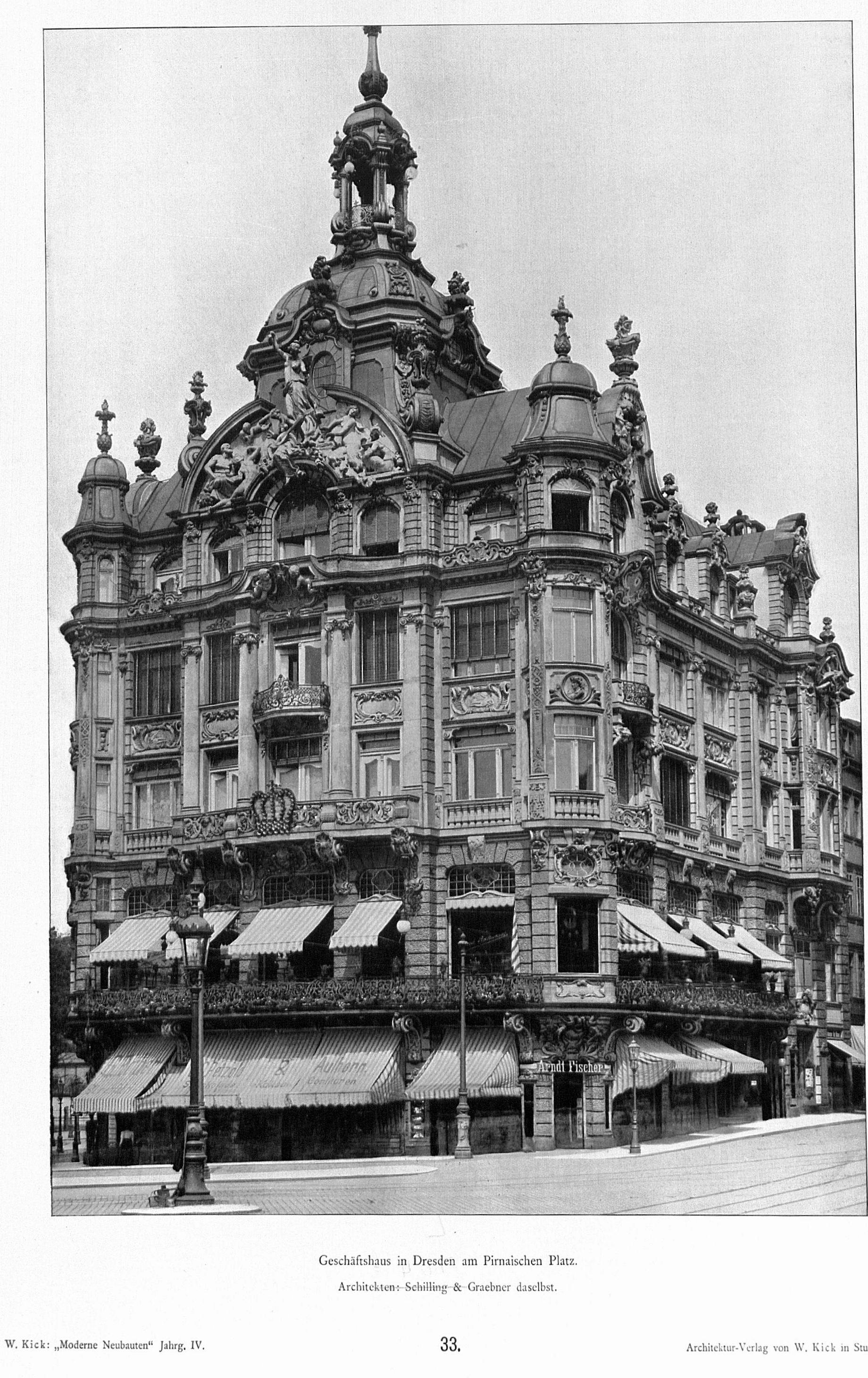 Architekten Dresden file kaiserpalast dresden architekten schilling graebner dresden