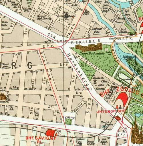 Historische Karte Potsdam.Pharus Plan Wikipedia