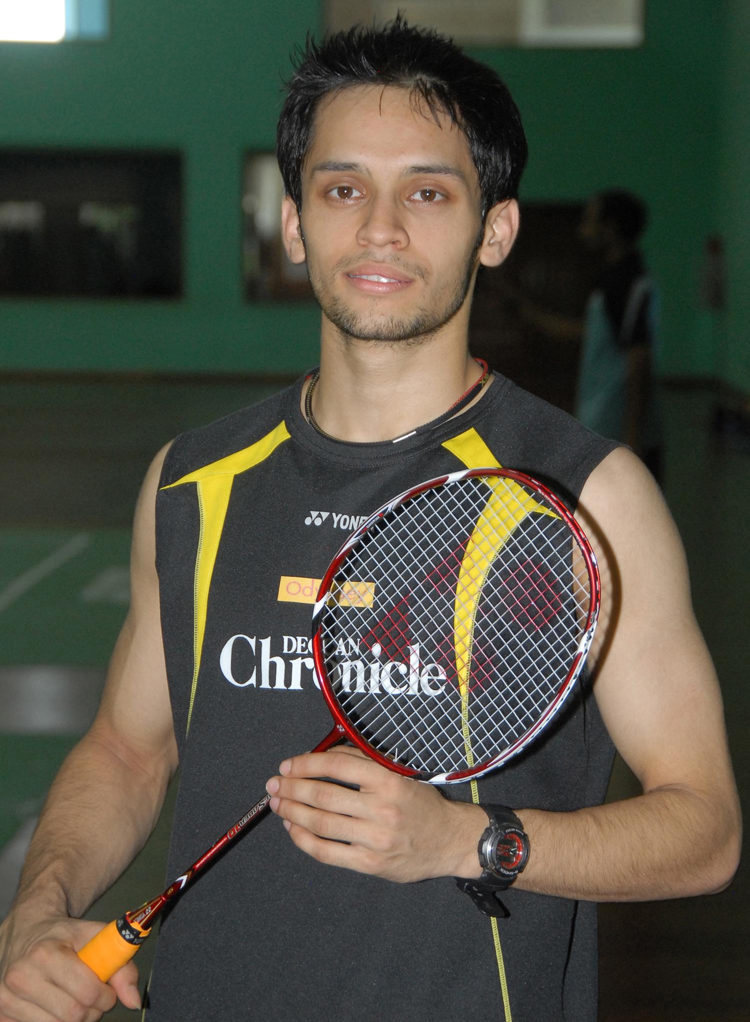 Parupalli Kashyap - Wikipedia Badminton Player Name