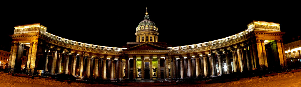 File kazan cathedral st petersburg for Famous landmarks in russia
