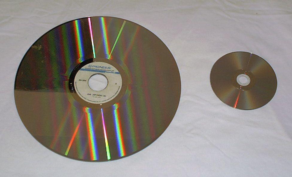 Laserdisc Vs DVD.