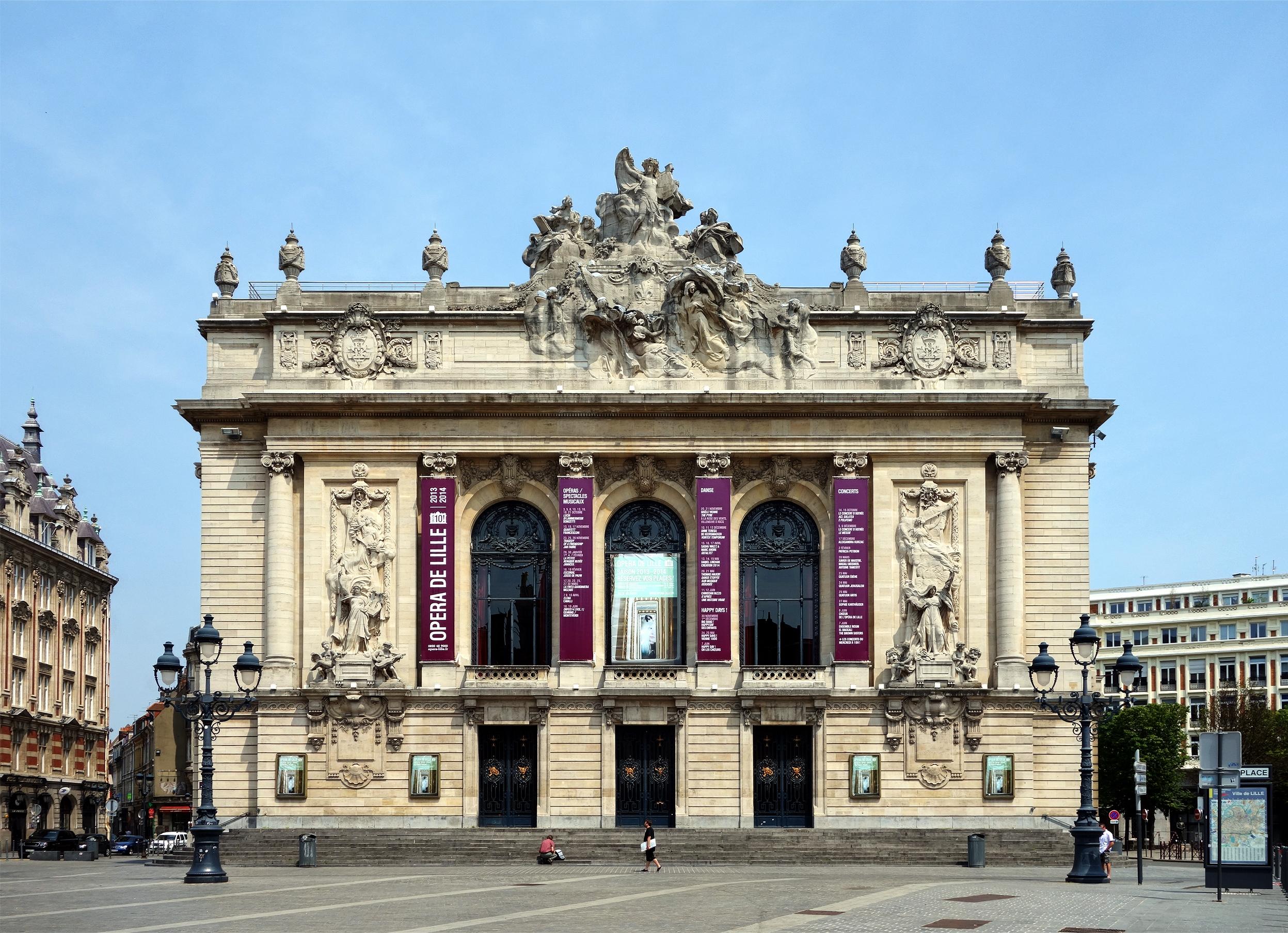 Architecte D Intérieur Lille opéra de lille - wikipedia