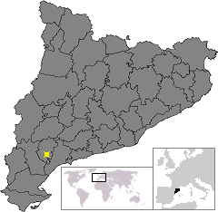 Location of Pradell