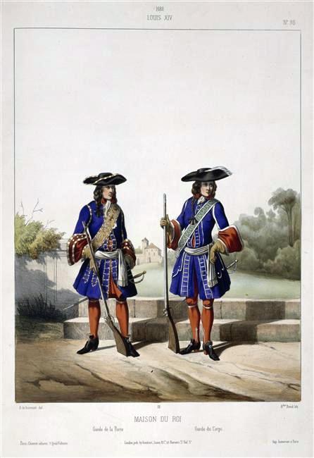 File maison du roi louis xiv 1688 garde de la porte et for Ancienne maison des gardes lourmarin france