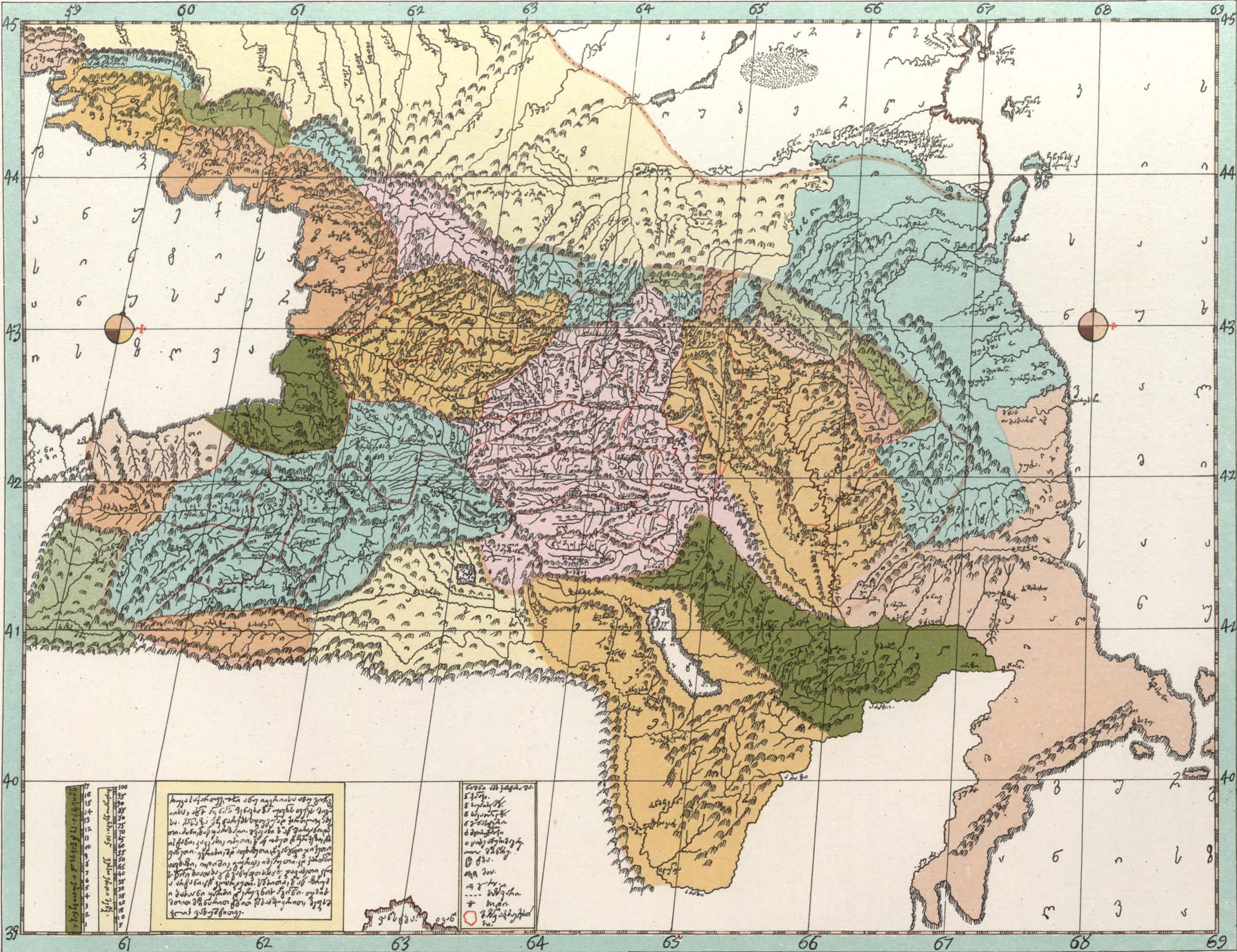 Map Of Georgia 2017.File Map Of Georgia By Prince Vakhushti Bagrationi 19 Jpg