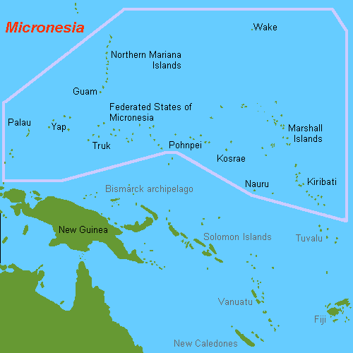FileMap Of Micronesia Oceaniapng Wikimedia Commons - Map oceania