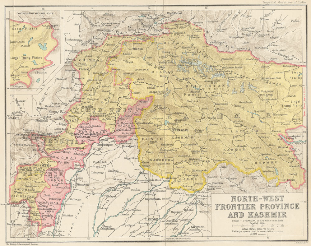 Filemap of the north west frontier province and kashmir from the filemap of the north west frontier province and kashmir from the imperial gazetteer gumiabroncs Images