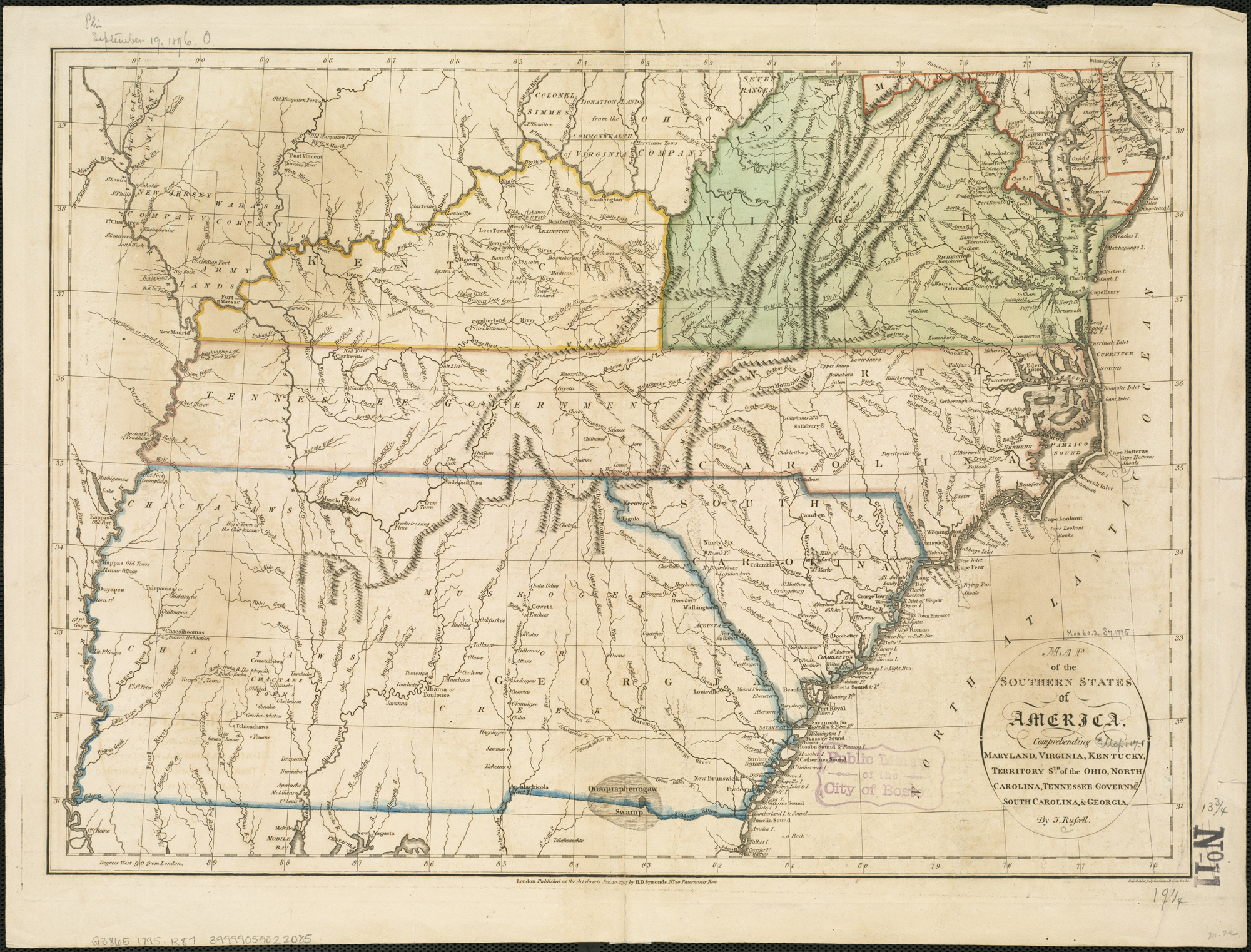 Map Of Georgia Tennessee And South Carolina.File Map Of The Southern States Of America Comprehending