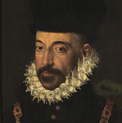 Almirante Marcantonio II Colonna. Pintura en la Galleria Colonna, Roma.