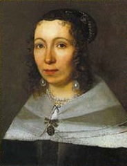 Painted portrait of Maria Sibylla Merian