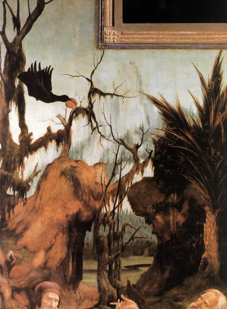 https://upload.wikimedia.org/wikipedia/commons/7/74/Matthias_Gr%C3%BCnewald_-_Sts_Paul_and_Anthony_in_the_Desert_%28detail%29_-_WGA10762.jpg