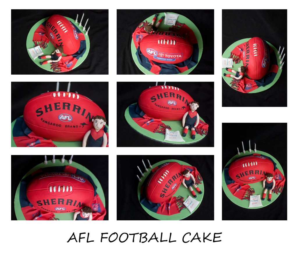 Edible Football Cake Decorations