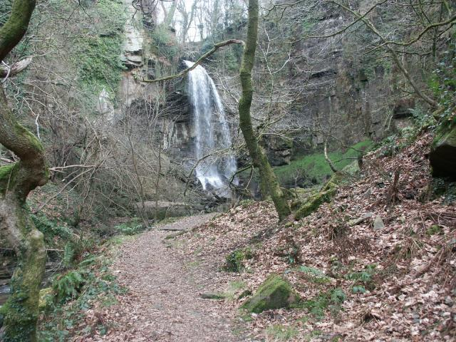 Melin Court Falls - geograph.org.uk - 518