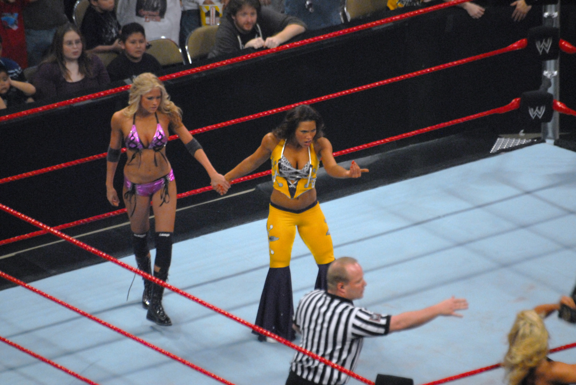 Description Mickie James and Kelly Kelly.jpg