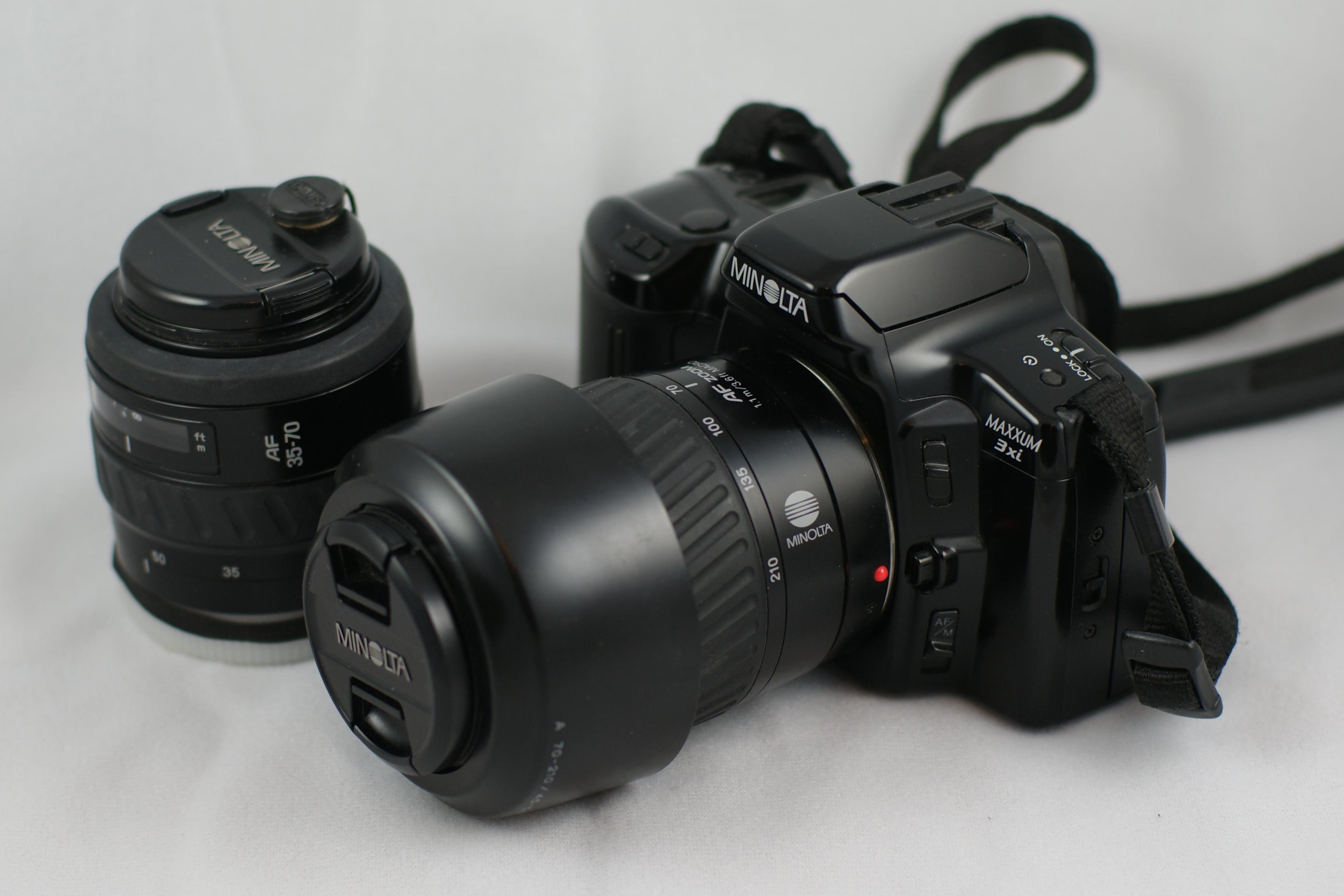 file minolta maxxum 3xi 35mm jpg wikimedia commons rh commons wikimedia org Minolta X-700 Minolta Auto Focus Camera