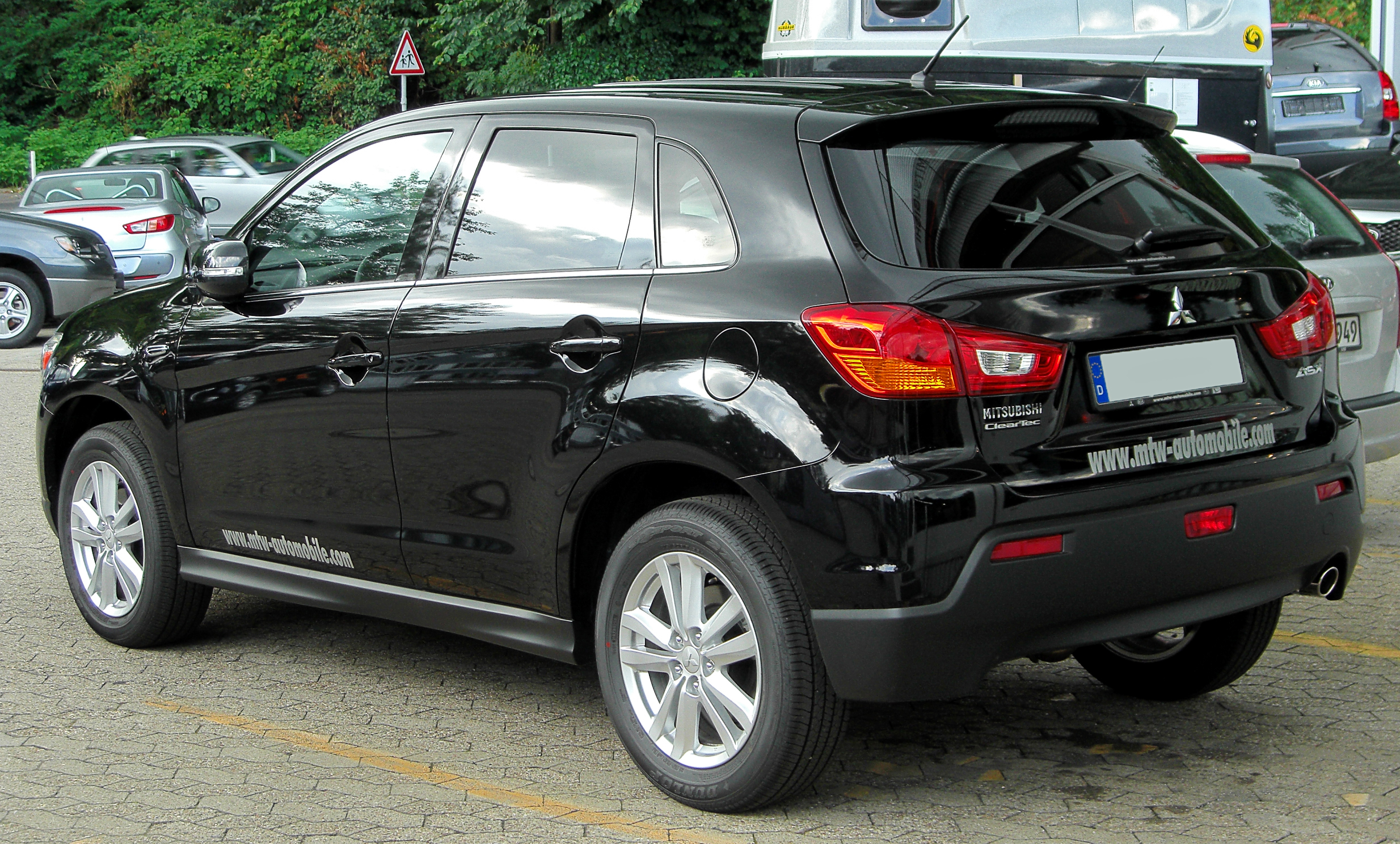 Description Mitsubishi ASX rear 20100717.jpg