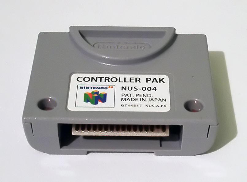 File:N64-mem card1 jpg - Wikimedia Commons