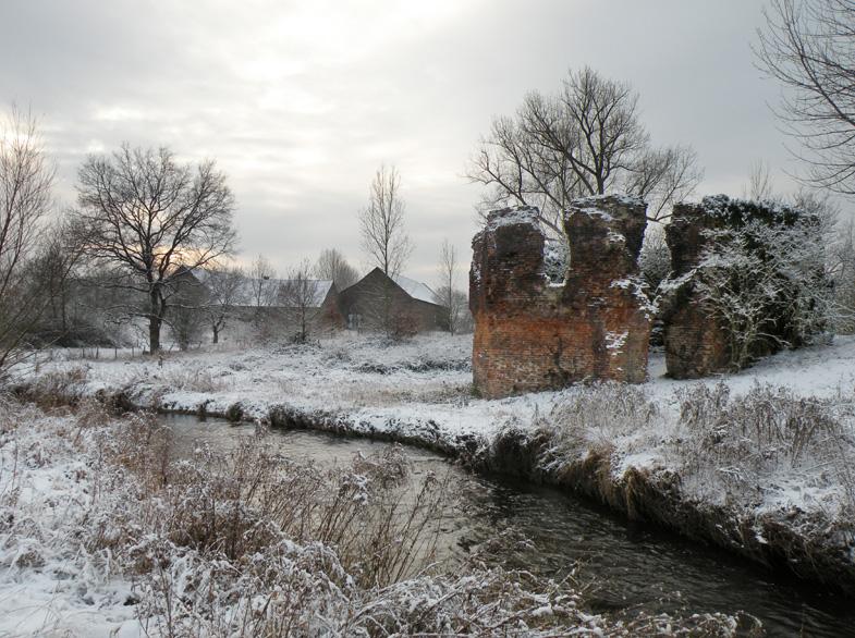 Achthoekige toren de echte oudste ruïne van Nederland?