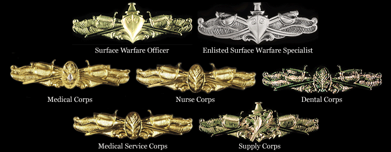 surface warfare insignia