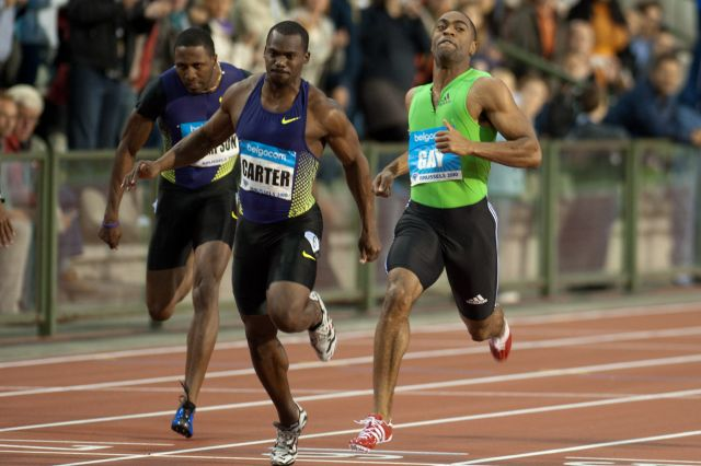 Nesta Carter Tyson Gay 2010 Memorial Van Damme