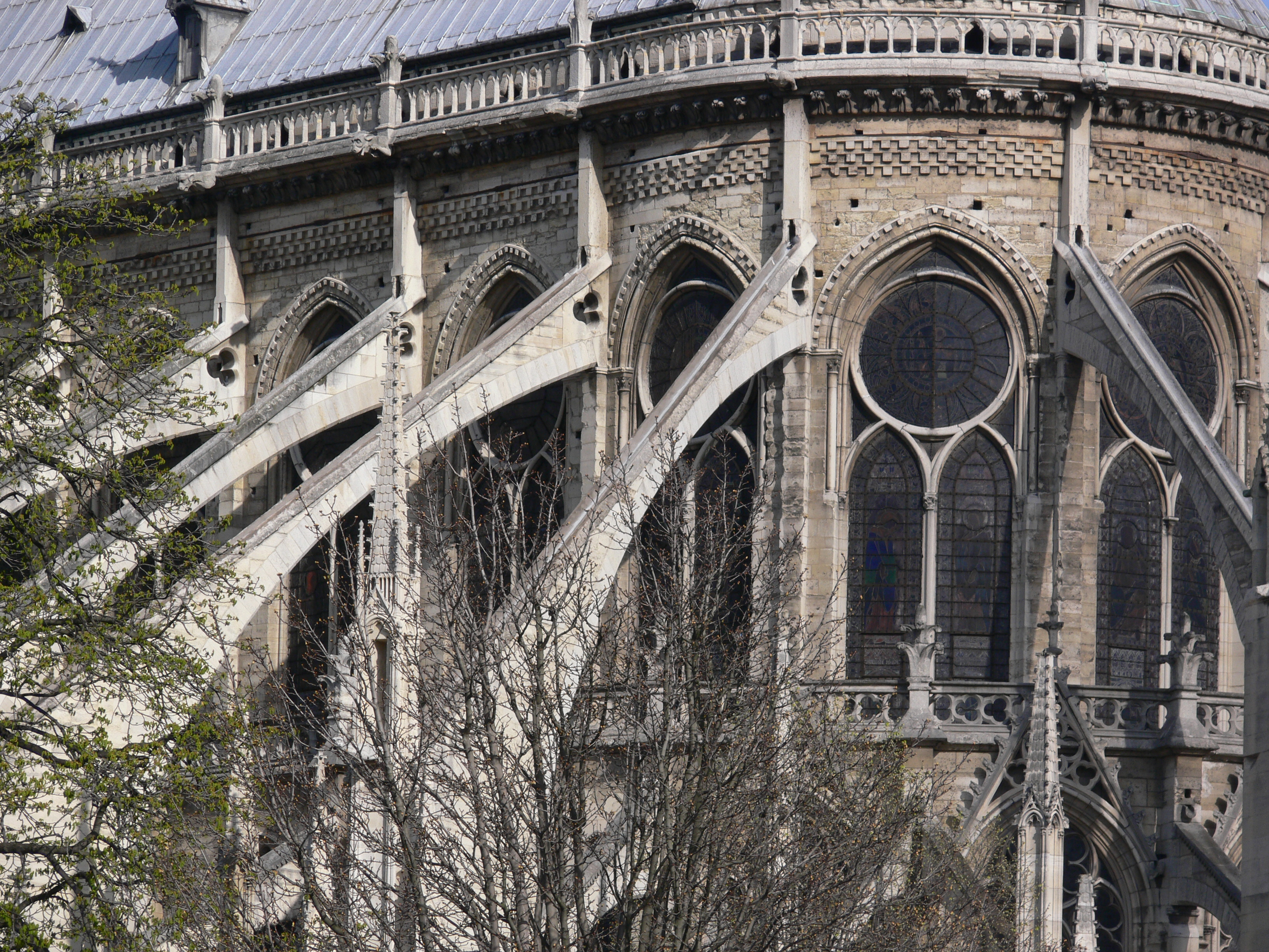 File notre dame de paris arcs wikimedia commons - Chevet architectuur ...