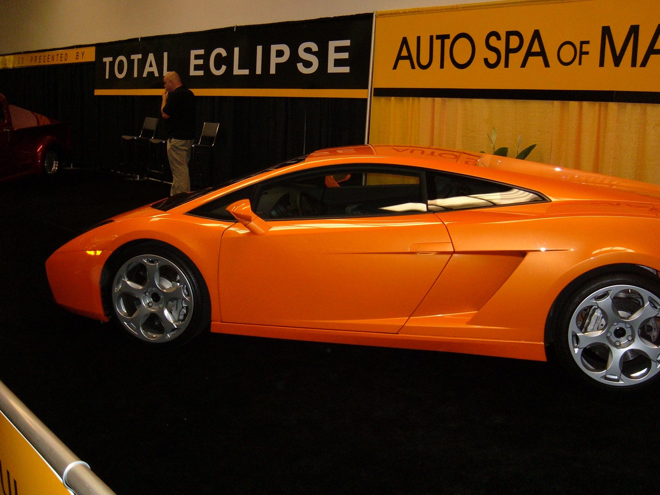 File Orange Lamborghini Gallardo Jpg Wikimedia Commons