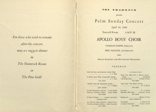 FilePalm Sunday Concert Program InsideJpg  Wikimedia Commons