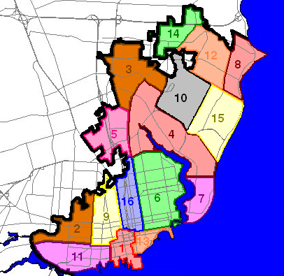 Map Pensacola Florida.List Of Districts And Neighborhoods In Pensacola Florida Wikipedia