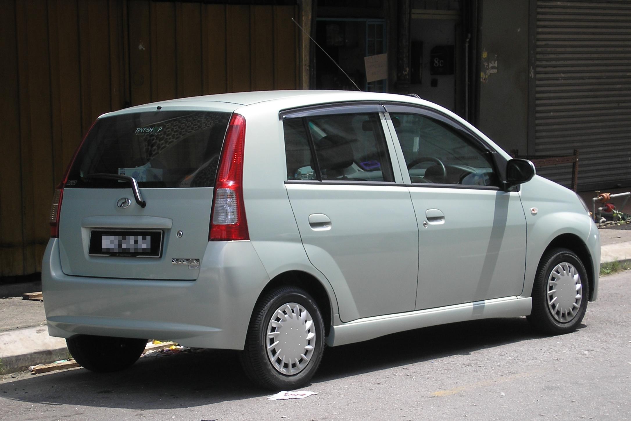 Datei:Perodua Viva (first generation) (rear), Kuala Lumpur