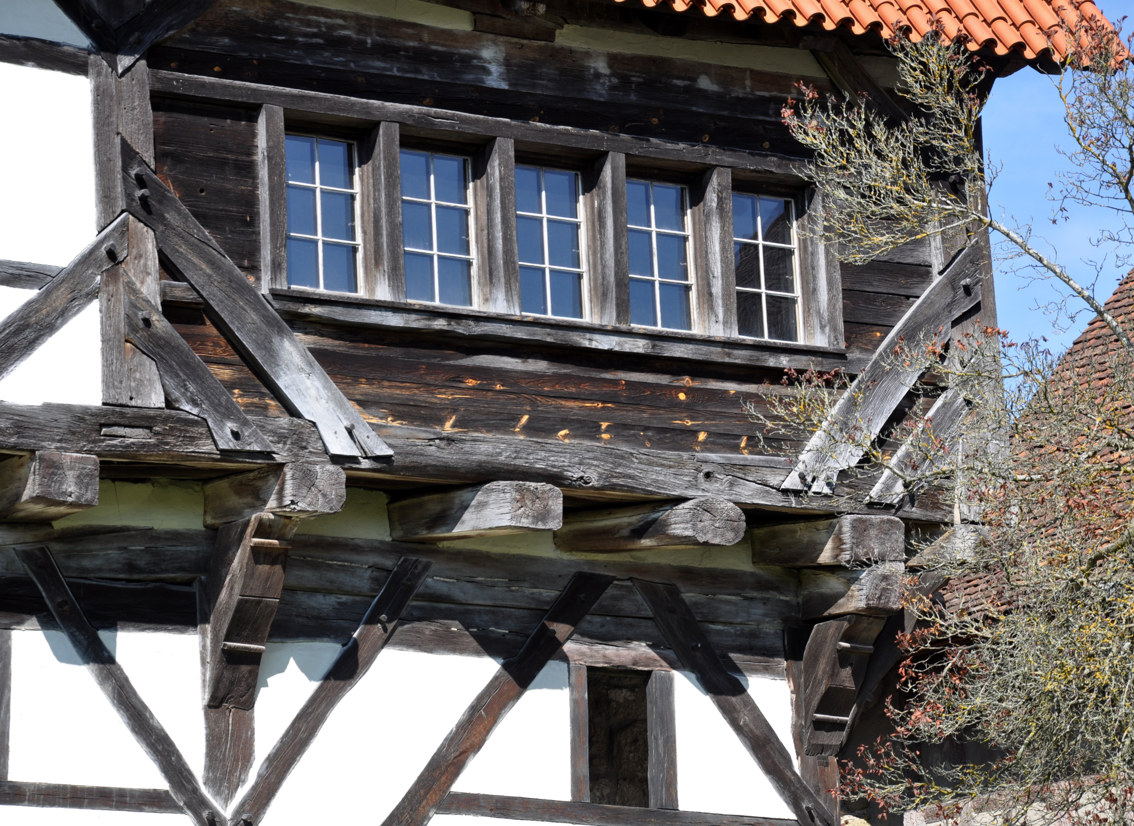 Fachwerkbauten in der rh n architekturgeschichte und for Fachwerk wikipedia